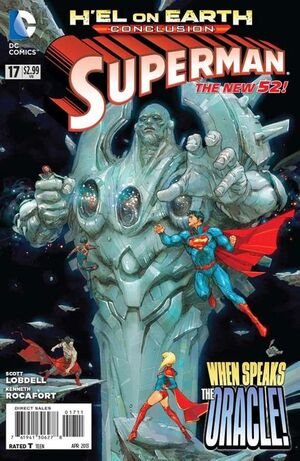 Cover for Superman #17