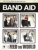 BAND AID magazine DEC 1984 DURAN DURAN,CULTURE CLUB,SPANDAU wikipedia