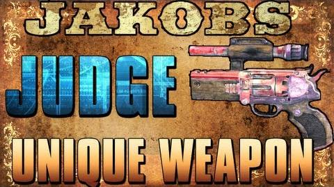 Borderlands 2 - Judge - Unique Weapon