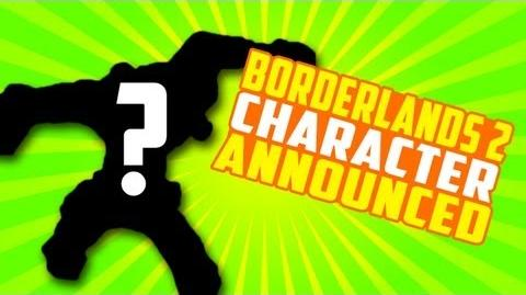 Borderlands 2 - NEW Character Announced!