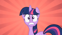 Twilight realizing she will be tardy S2E3