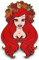 Disney Auctions (P.I.N.S.) - Seasons - Ariel (Autumn)