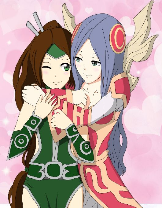 Claris Irealia Loves Akali