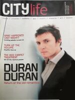 City life magazine duran duran wikipedia