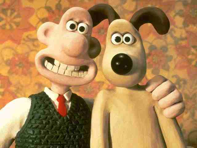 Wallace and Gromit are the two characters in Wallace and Gromit series ...