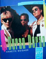Annette weidner Duran Duran V.I.P Sonderausgabe 1993 paperback series book germany wikipedia author