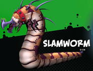 Slamworm VG pose