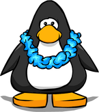 Blue Lei from a Player Card