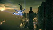 Saints Row IV Announce Teaser - flying