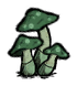 Green Mushroom