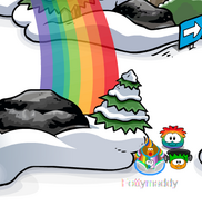 Rainbowpuffleatforest