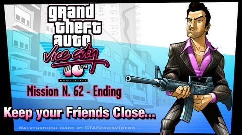 GTA Vice City - iPad Walkthrough - Ending Final Mission - Keep Your Friends Close..