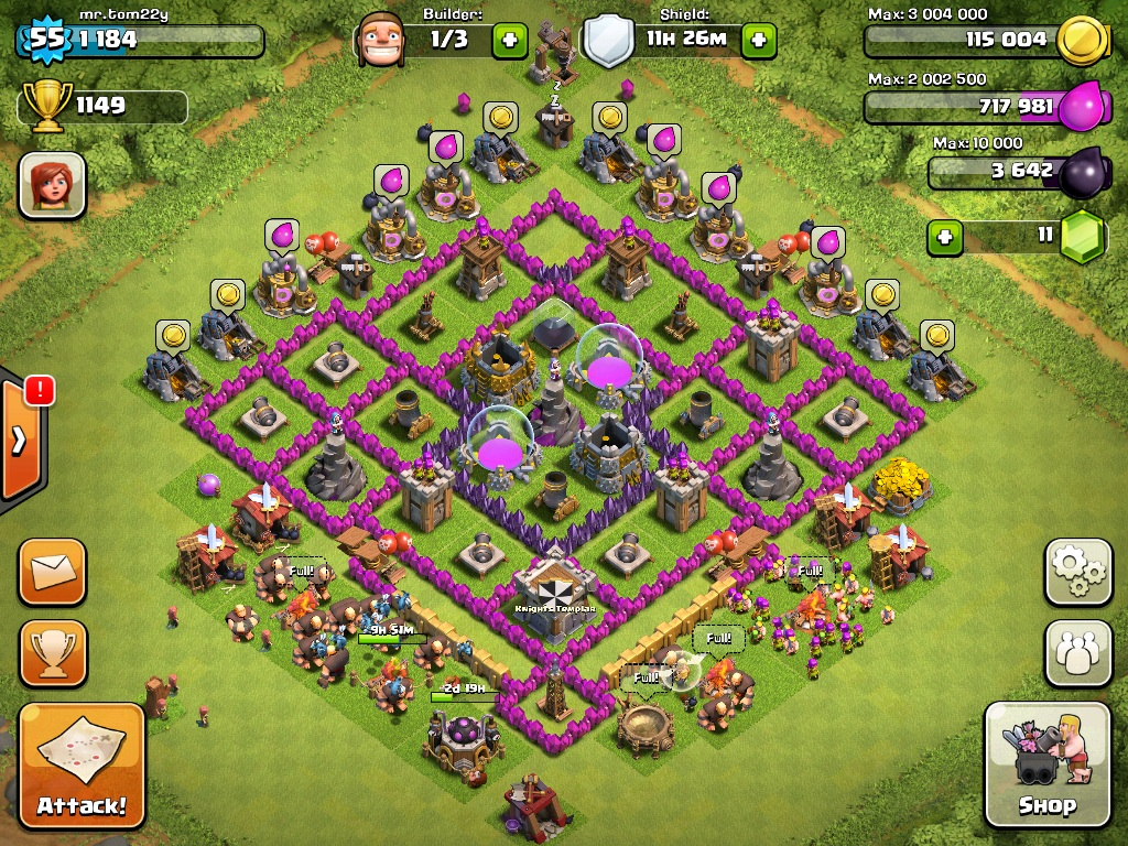 User blog 23bjs09 a level 8 town hall defense clash of clans wiki