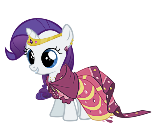 My little pony filly rarity - photo#25