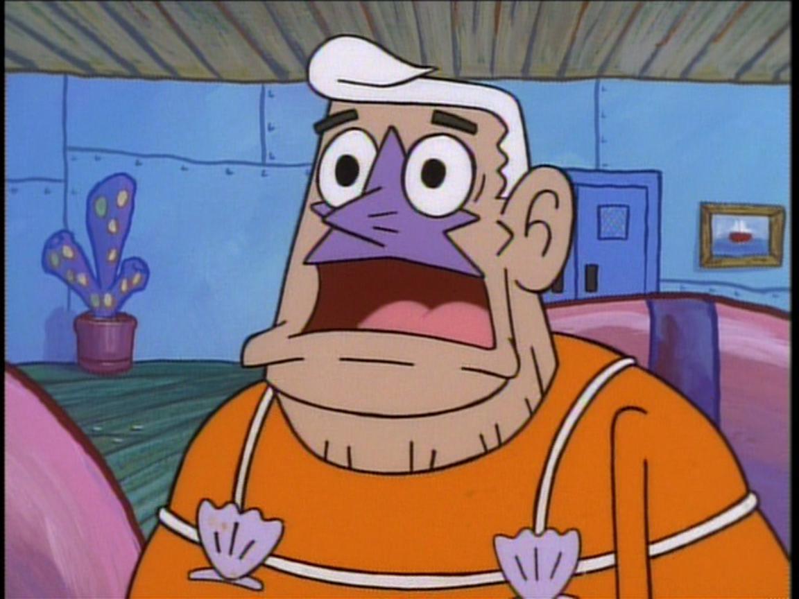 Manly Spongebob Spongebob Mermaid Man Evil