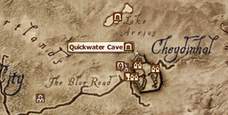 Quickwater Cave MapLocation