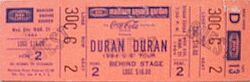 Madison Square Garden, New York, NY (USA) - 21 March 1984 wikipedia arena duran duran show