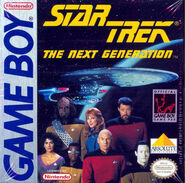 Star Trek TNG Game Boy Cover