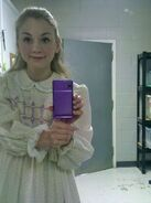 Emily Kinney very cute young age