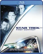 Star Trek First Contact BD cover Region A