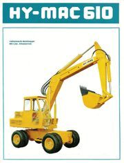 HY-MAC 610 WHEEL EXCAVATOR