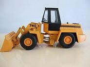 A toy 1980s Calsa 740 4X4 Loader