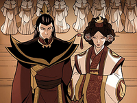 Ozai and Ursa&#39;s wedding