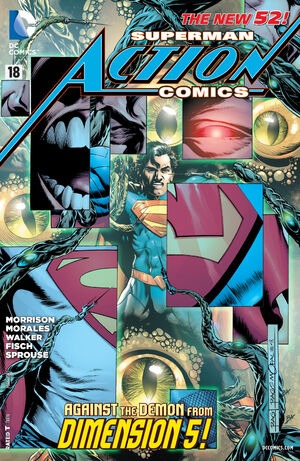Cover for Action Comics #18