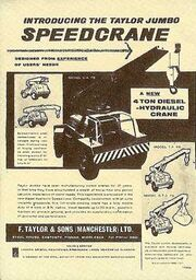 An original FGTS 1960s Model Range leaflet