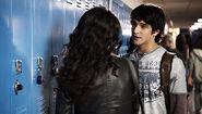 Scott and Allison at School