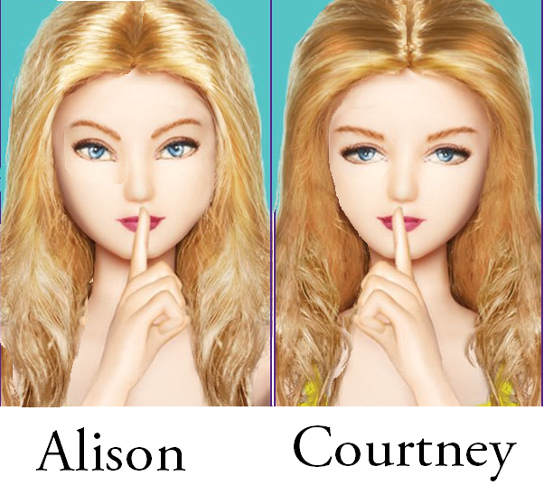 Pretty Little Liars Book Cover Dolls : Middle readz ali s pretty little lies by sara shepard