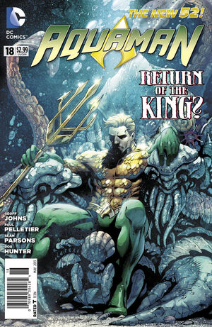 Cover for Aquaman #18
