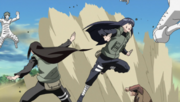 Hinata and Neji