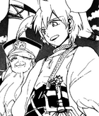 Alibaba with ship&#39;s captain