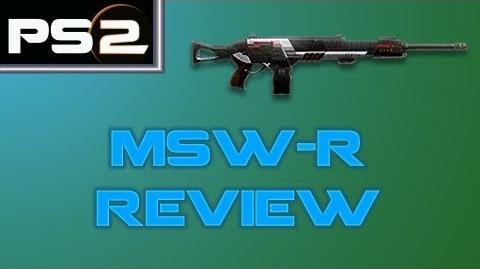 Planetside 2 - MSW-R Review - Mr. G4F