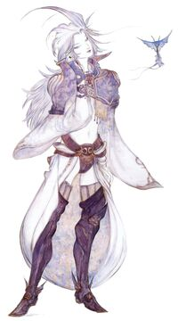 Kuja Amano Artwork