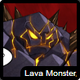 The lava monster icon