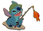 DisneyStore.com - Summer Vacation Stitch Set - Fishing Stitch Only