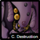 C destruction icon