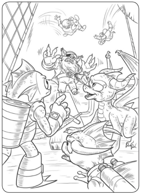 gill grunt coloring pages - photo#20