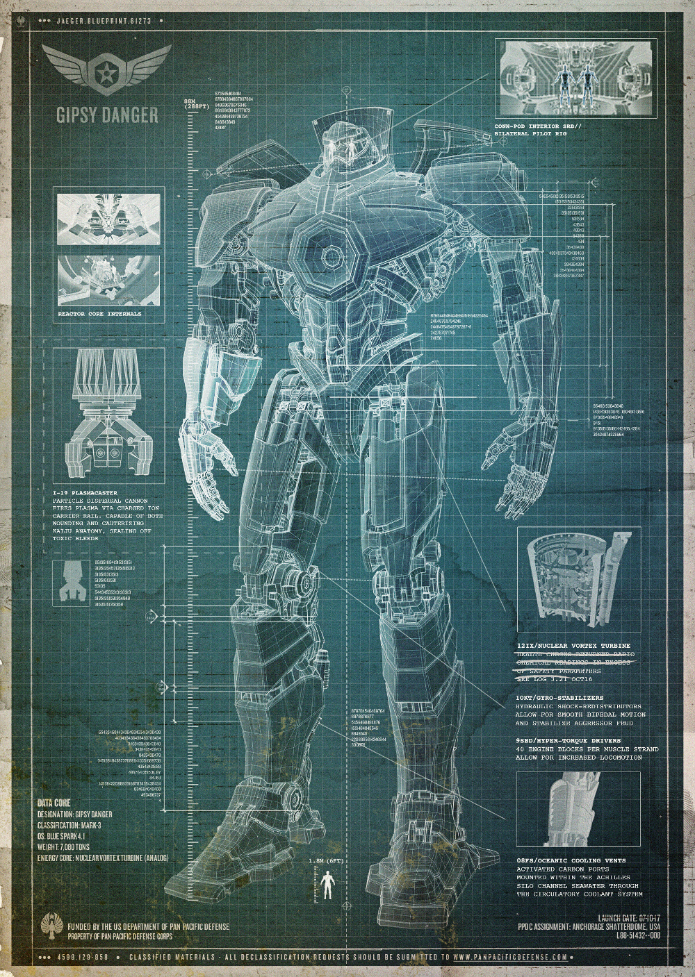 Gipsy danger jaeger pacific rim wiki fandom powered by wikia gipsy danger jaeger malvernweather