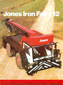 1994 JONES IF12 TD Mobilecrane