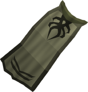 Third-age druidic cloak detail