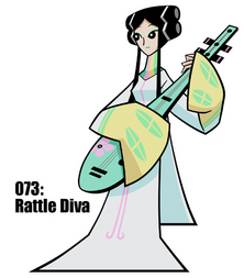 Rattle Diva
