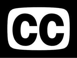 Closed captioning symbol