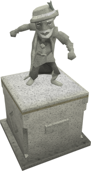 Hazelmere statue