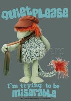Poster Fraggle Rock-Quiet Please