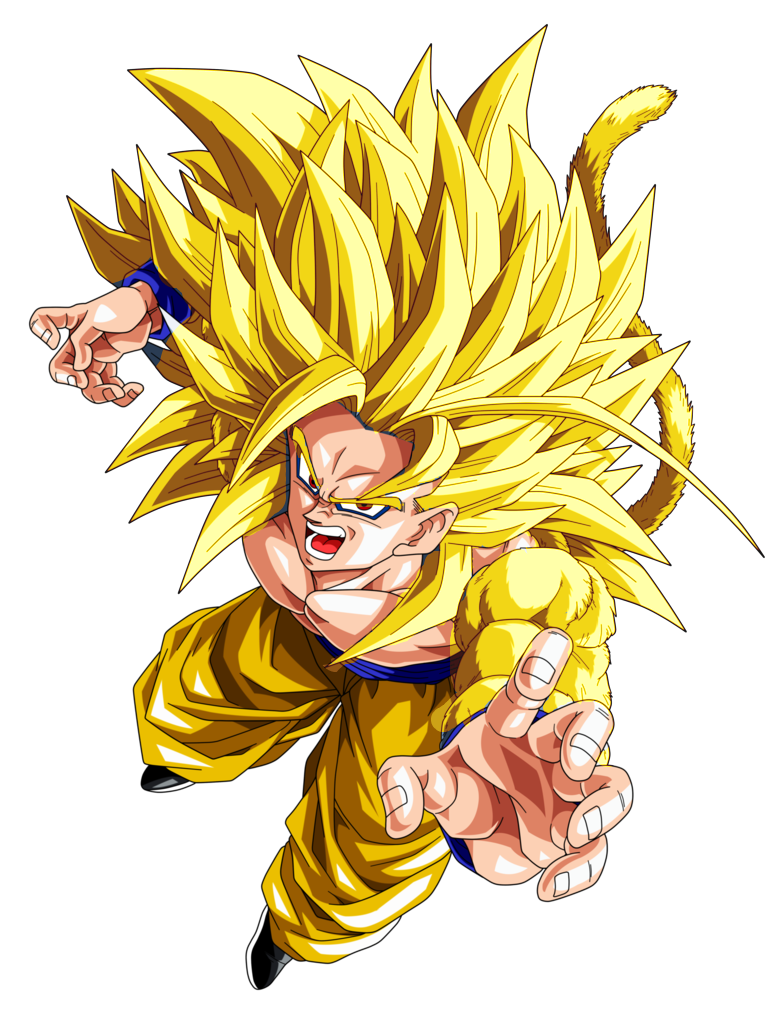 Goku y broly mueren la nueva fase de goku dragon ball - Super saiyan 6 goku pictures ...