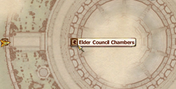 Elder Council Chambers MapLocation