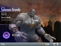 Regime Solomon Grundy Injustice- Gods Among Us iOS